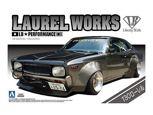 Aoshima Liberty Walk 1/24 Laurel Works [130]