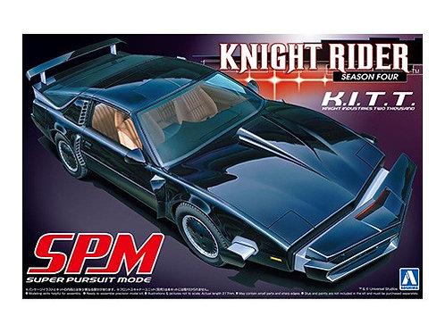Aoshima Knight Rider 1/24 K.I.T.T. [Season Four] [Super Pursuit Mode]