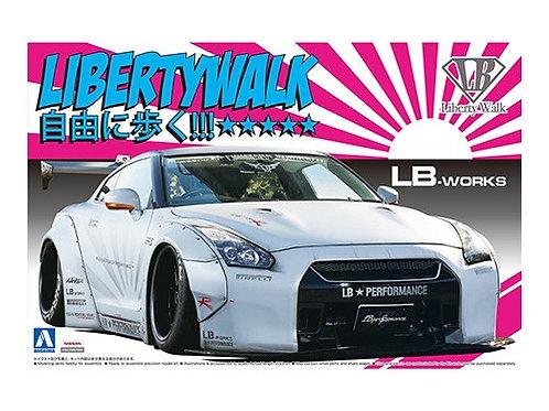 Aoshima Liberty Walk 1/24 R35 GT-R [Ver.2]