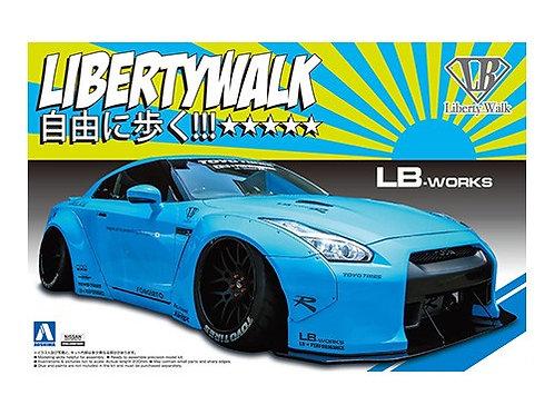 Aoshima Liberty Walk 1/24 R35 GT-R [Ver.1]