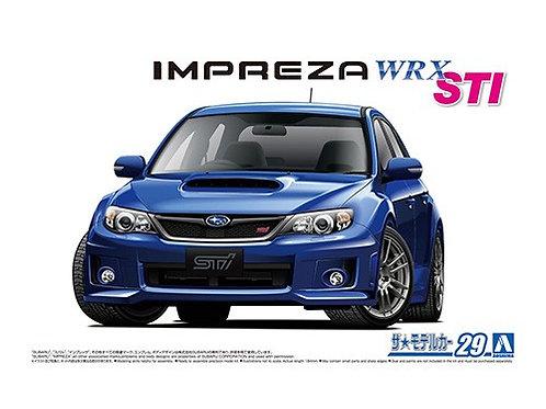 Aoshima Model Car No.29 1/24 Subaru Impreza WRX STI '10