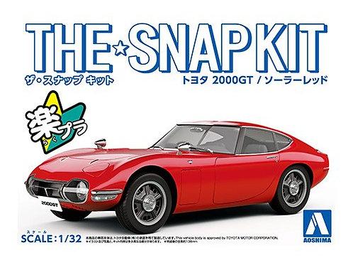 Aoshima Snap Kit 5-B 1/32 Toyota 2000 GT [Solar Red]