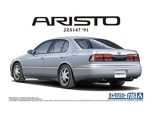 Aoshima Model Car No.116 1/24 Toyota Aristo JZS147 '91