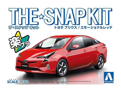 Aoshima Snap Kit 2-B 1/32 Toyota Prius [Emotional Red]