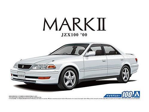 Aoshima Model Car No.100 1/24 Toyota Mark II JZX100  '00