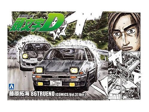 Aoshima Initial D 1/24 86Trueno [Comics Vol 37 Ver.] [Takumi Fujiwara]