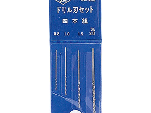 Mineshima L-7A Drill Bit Set [4 Pcs]