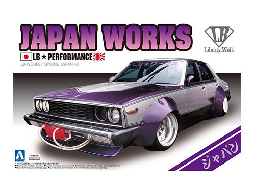 Aoshima Liberty Walk 1/24 Japan Works [4Dr Ver.]