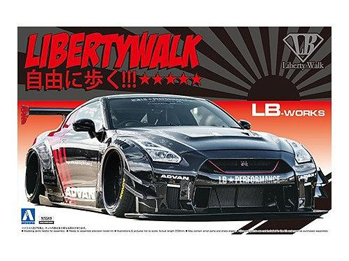 Aoshima Liberty Walk 1/24 R35 GT-R [Type 2] [Ver.2]
