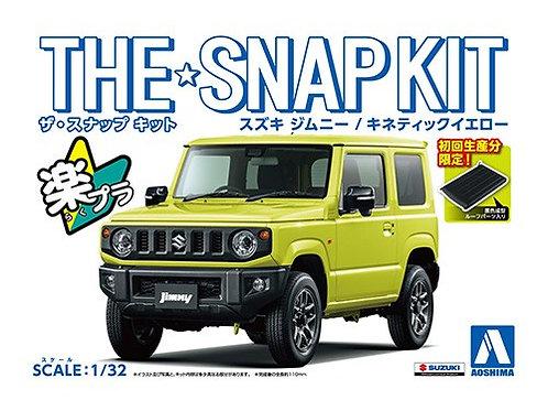 Aoshima Snap Kit 1/32 Suzuki Jimny [Kinetic Yellow]