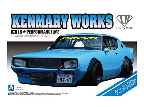 Aoshima Liberty Walk 1/24 Kenmary Works [2Dr Ver.]