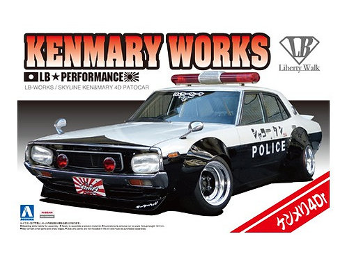Aoshima Liberty Walk 1/24 Kenmary Works [Patrol Car 4Dr Ver.]