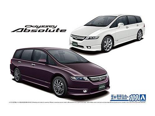 Aoshima Model Car No.109 1/24 Honda Odyssey Absolute '06