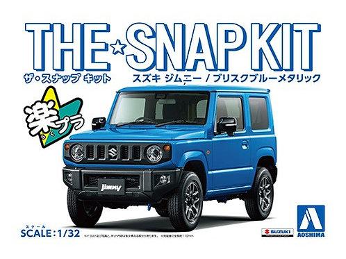 Aoshima Snap Kit 1/32 Suzuki Jimny [Brisk Blue Metallic]