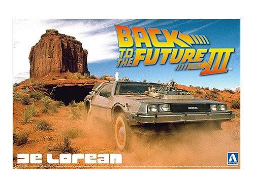 Aoshima Back to the Future III 1/24 Delorean