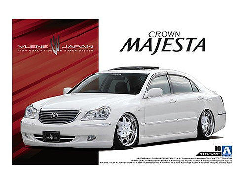Aoshima Tuned Car 1/24 Toyota Crown [Majesta] [Vlene Japan]