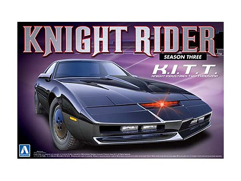 Aoshima Knight Rider 1/24 K.I.T.T. [Season Three]