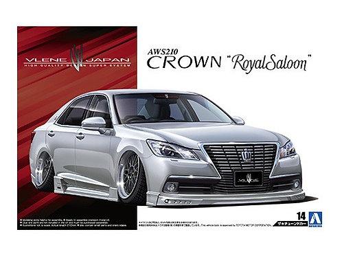 Aoshima Tuned Car 1/24 Toyota Crown [Royal Saloon] [Vlene]