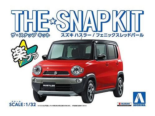 Aoshima Snap Kit 1-A 1/32 Suzuki Hustler [Phoenix Red Pearl]