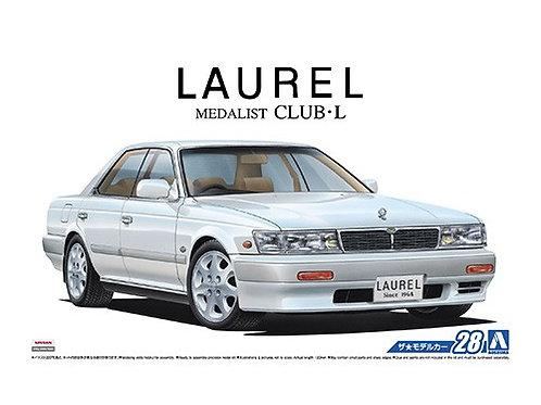 Aoshima Model Car No.28 1/24 Nissan Laurel Medalist Club L