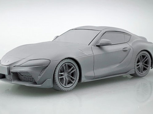 Aoshima Snap Kit 10-C 1/32 Toyota GR Supra [Black Metallic]