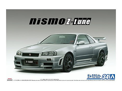 Aoshima Model Car No.34 1/24 Nismo Skyline GTR Z-Tune