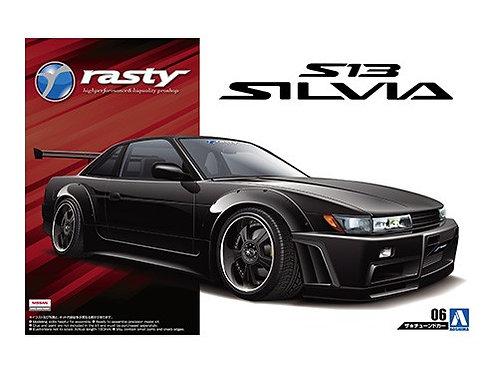 Aoshima Tuned Car 1/24 Nissan S13 Silvia
