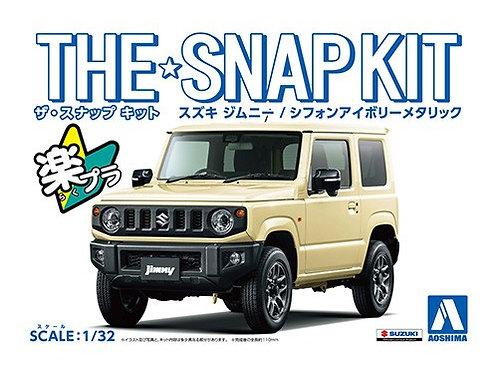 Aoshima Snap Kit 1/32 Suzuki Jimny [Chiffon Ivory Metallic]