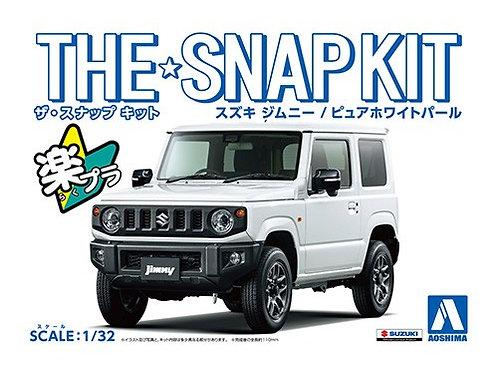 Aoshima Snap Kit 1/32 Suzuki Jimny [Pure White Pearl]