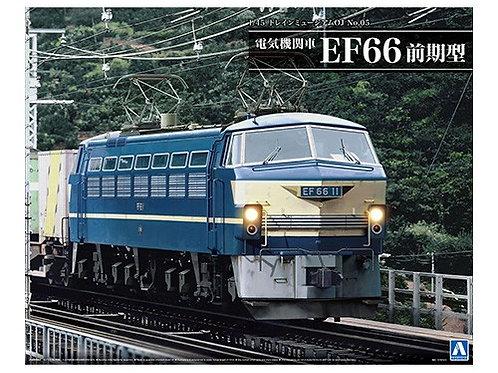 Aoshima Train Museum OJ 1/45 Electric locomotive EF66 Early Model