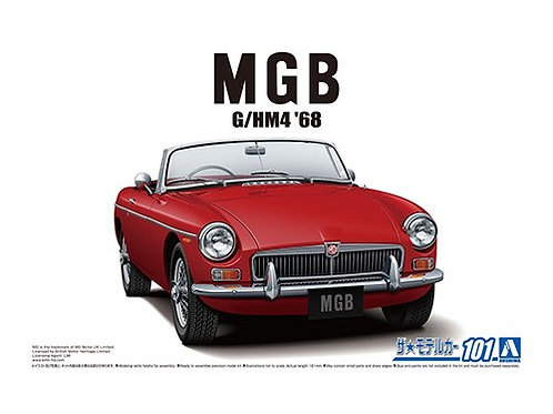Aoshima Model Car No.101 1/24 MGB G/HM4  '68