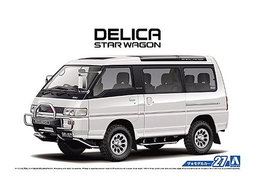 Aoshima Model Car No.27 1/24 Mitsubishi Delica Star Wagon