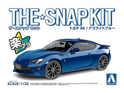 Aoshima Snap Kit 3-D 1/32 Toyota 86 [Azurite Blue]