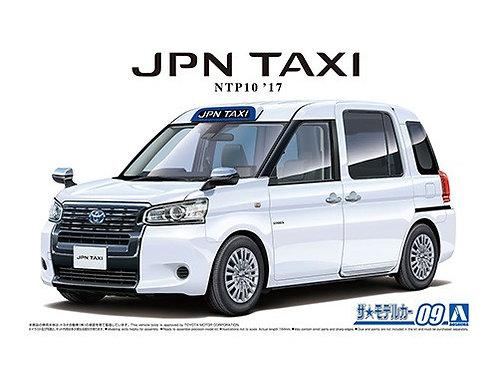 Aoshima Model Car No.9 1/24 Toyota JPN Taxi NTP10  '17