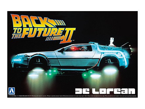 Aoshima Back to the Future II 1/24 Delorean