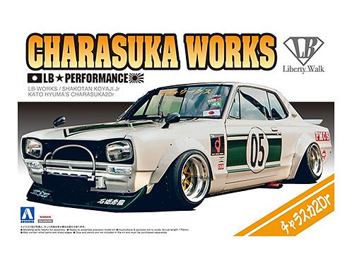 Aoshima Liberty Walk 1/24 Charasuka Works [2Dr Ver.]