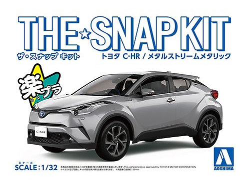 Aoshima Snap Kit 1/32 Toyota C-HR [Metal Stream Metallic]