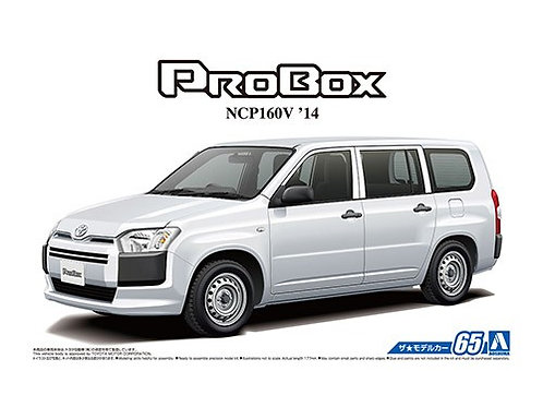Aoshima Model Car No.65 1/24 Toyota Probox NCP160V '14