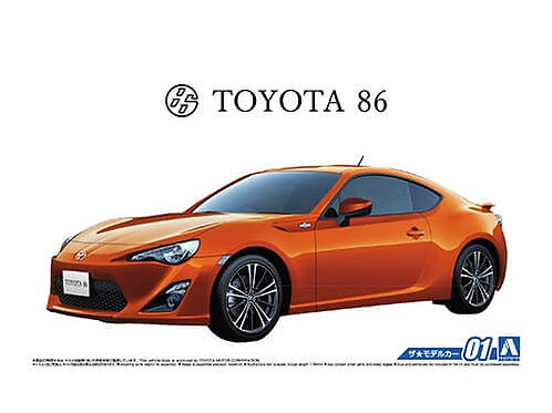 Aoshima Model Car No.1 1/24 Toyota 86