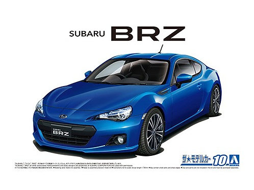 Aoshima Model Car No.10 1/24 Subaru BRZ