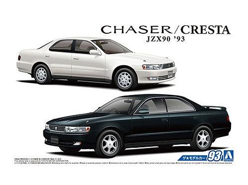 Aoshima Model Car No.93 1/24 Toyota  Chaser/Cresta JZX90 '93