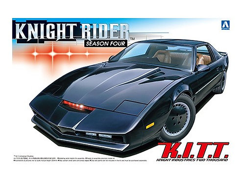 Aoshima Knight Rider 1/24 K.I.T.T. [Season Four]