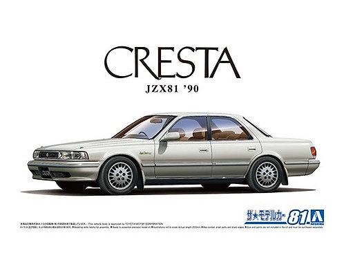 Aoshima Model Car No.81 1/24 Toyota Cresta JZX81 '90