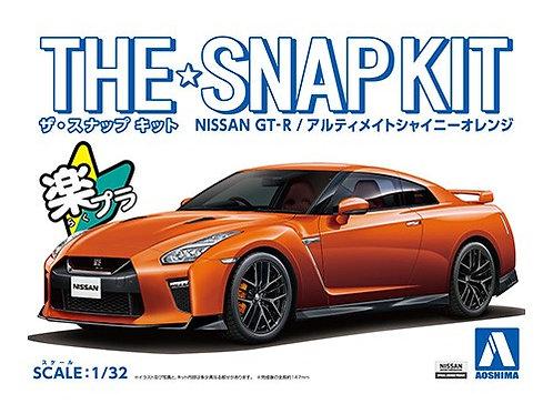 Aoshima Snap Kit 1/32 Nissan GT-R [Ultimate Shiny Orange]