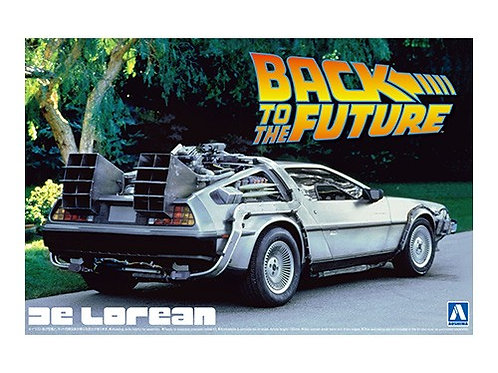 Aoshima Back to the Future I 1/24 Delorean