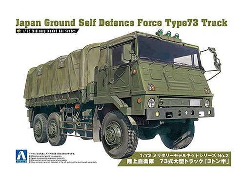 Aoshima Military Model 1/72 JGSDF Type 73 Truck