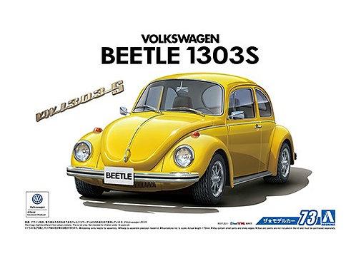 Aoshima Model Car No.73 1/24 Volkswagen Beetle 1303S '73
