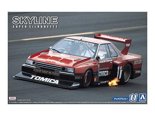 Aoshima Model Car No.11 1/24 Nissan Skyline Super Silhoutte