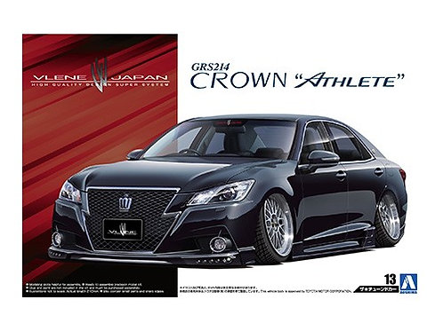 Aoshima Tuned Car 1/24 Toyota Crown [Athlete] [Vlene]