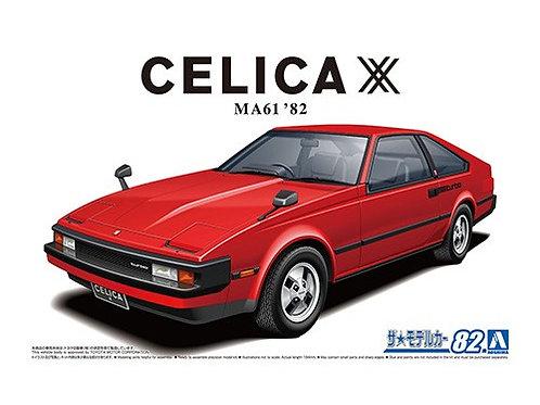 Aoshima Model Car No.82 1/24 Toyota Celica MA61 '82